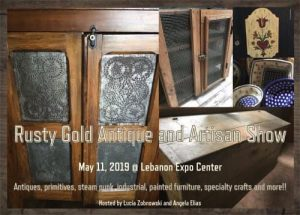 Rusty Gold Antique and Artisan Show @ Lebanon Valley Expo Center & Fairgrounds | North Cornwall | PA | United States